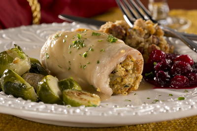 EDR Stuffed Turkey Cutlets