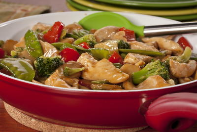 EDR Sweet and Sour Chicken with Vegetables