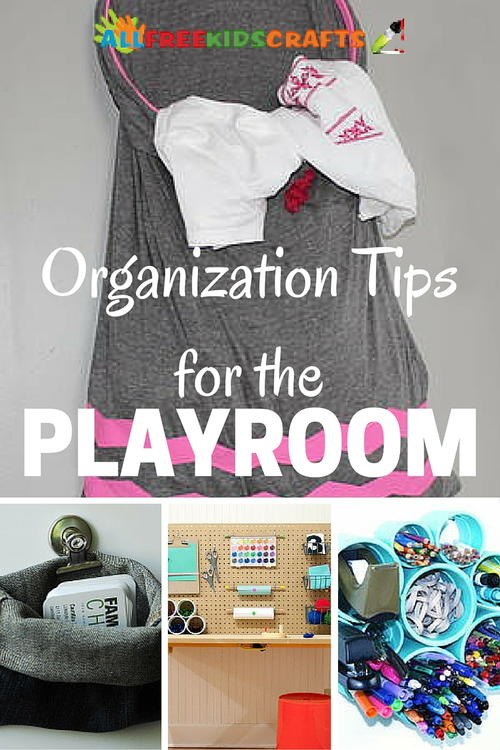 Organization Tips for the Playroom