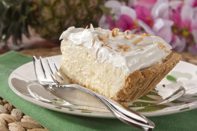 EDR Tropical Cream Cheese Pie