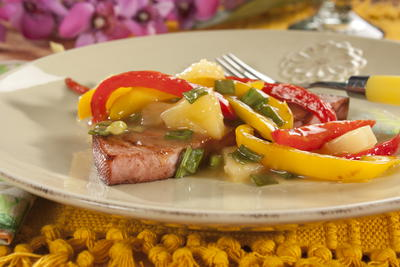 EDR Tropical Ham Steak