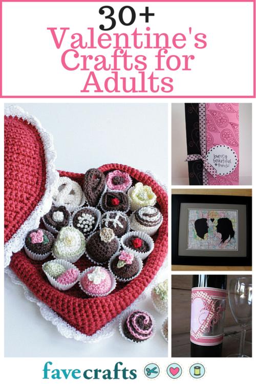 36 valentine crafts for adults making valentine crafts for Craft making ideas for adults