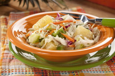 EDR Tropical Treat Coleslaw