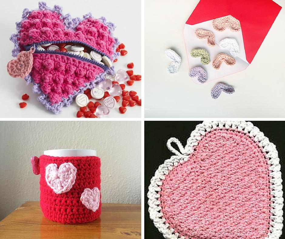 26 Last Minute Valentine Gifts To Crochet Allfreecrochet Com
