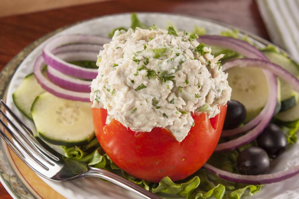 Tuna Stuffed Tomatoes Everydaydiabeticrecipes Com