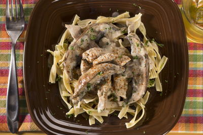 EDR Turkey Stroganoff