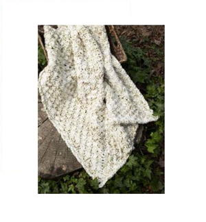 Interlocked Granny Throw Blanket