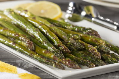 EDR Lemon Roasted Asparagus