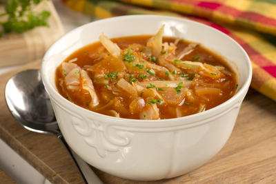 Zesty Cabbage Soup