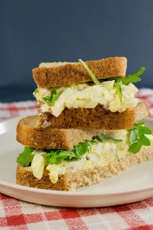 Classic Egg Salad Sandwich | FaveHealthyRecipes.com