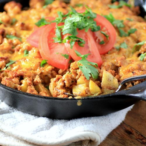Tex-Mex Potato Bake
