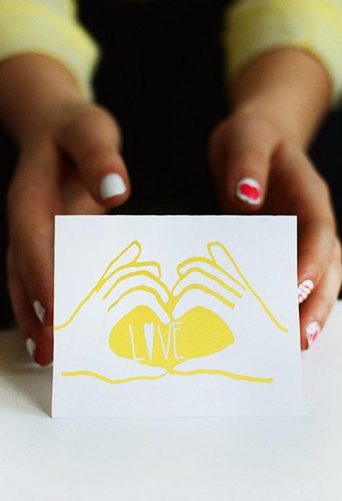 Printable Handmade Love Cards