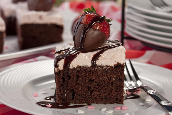 Cupids Chocolate Cake