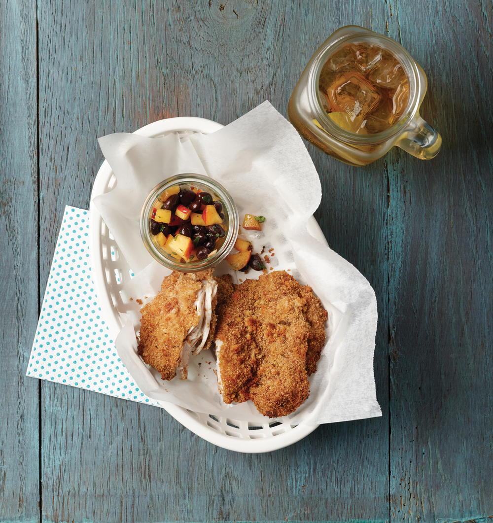 Oven fried chicken for Barbara seelig