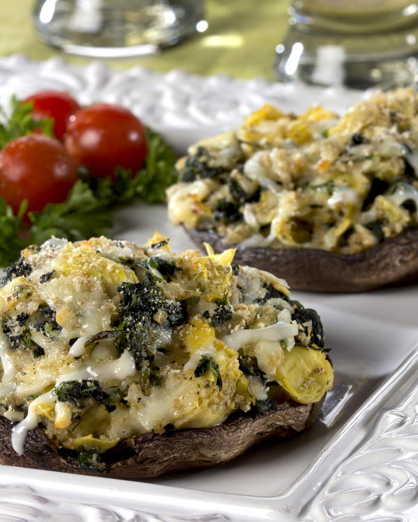 EDR Overstuffed Portobello Mushrooms