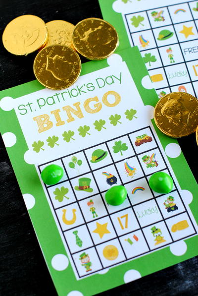 St Patricks Day Printable Bingo Cards
