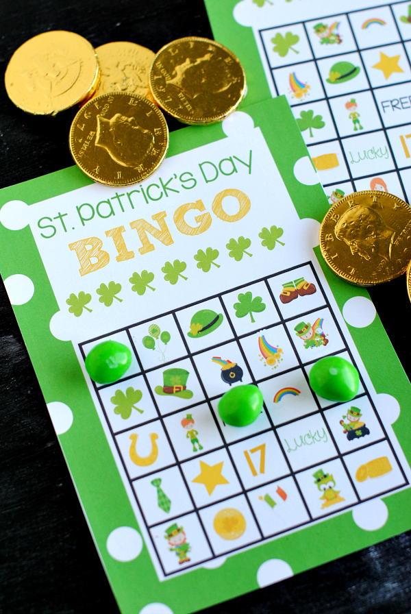 st  patrick u0026 39 s day printable bingo cards