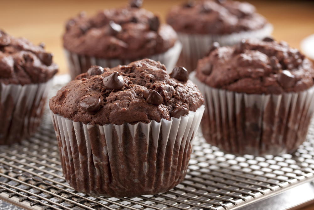 Chocolate Blueberry Muffin Recipe