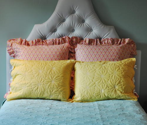 Penthouse Pillow Sham Sewing Pattern