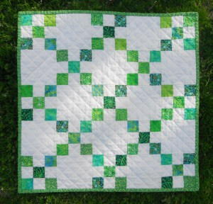 Mystical Moors Irish Chain Quilt