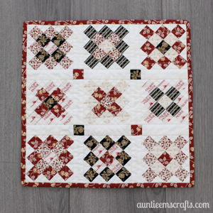 Granny Square Mini Quilt Sewing Pattern