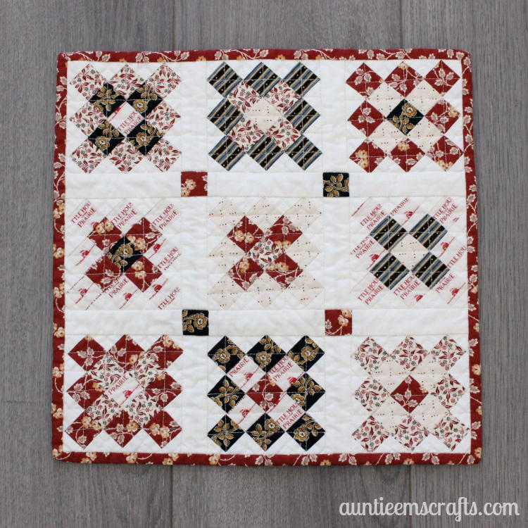 Granny Square Mini Quilt Sewing Pattern Allfreesewing Com