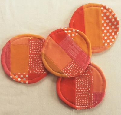 Crazy Patchwork Coaster Sewing Pattern