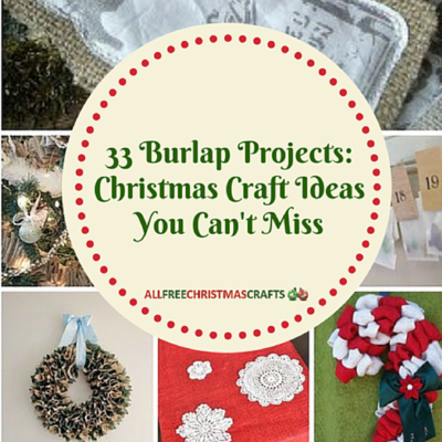 33 Burlap Projects You Cant Miss