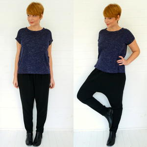 DIY Harem Pants Sewing Pattern