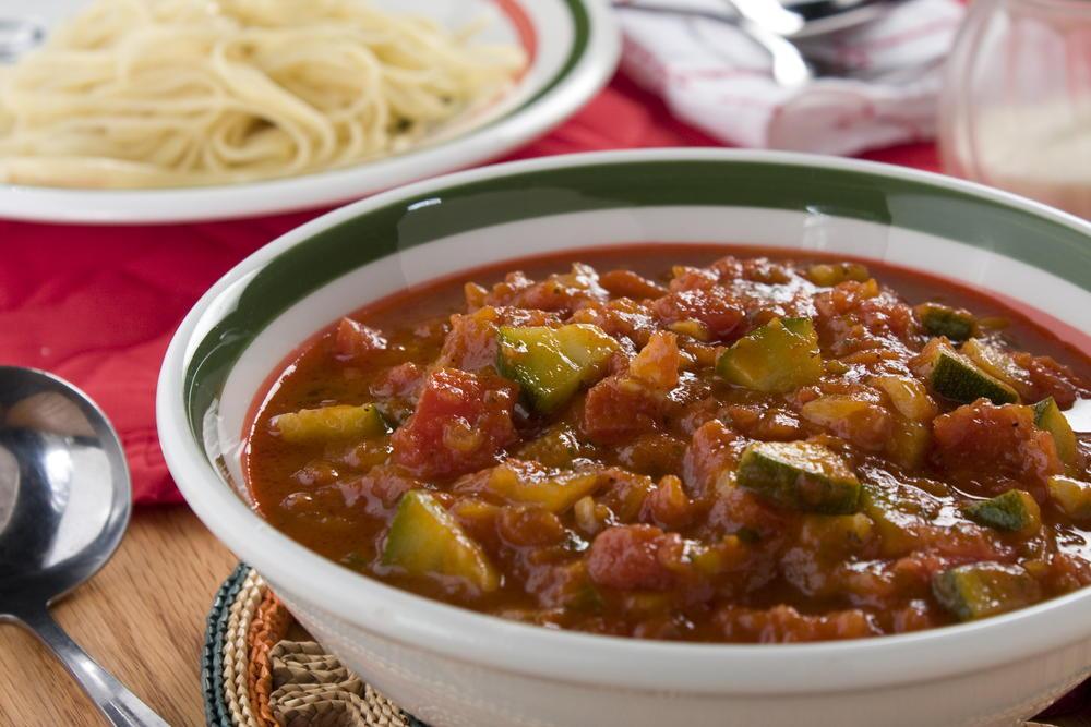 Vegetable marinara pasta recipe