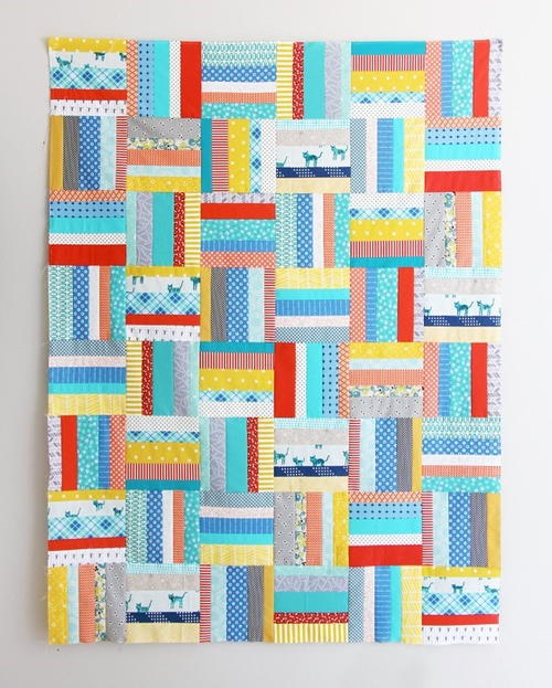 Early Bird Strip Quilt Pattern