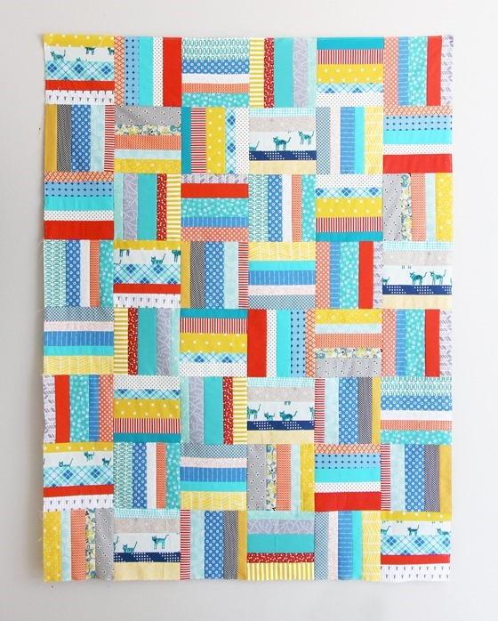 31 Simply Stunning Strip Quilt Patterns   FaveQuilts.com : strip quilts patterns - Adamdwight.com