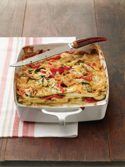 Southern-Style Vegetable Casserole