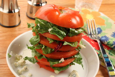 EDR Spinach Tomato Tower