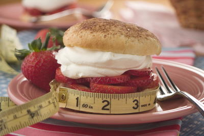 EDR Guilt Free Strawberry Shortcake