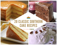 20 Classic Southern Cake Recipes
