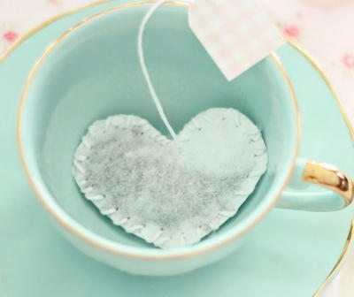 Heart Shaped Tea Bag Tutorial