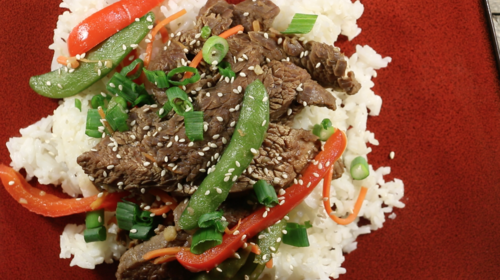 Moms Easy Asian Beef Stir-Fry Recipe
