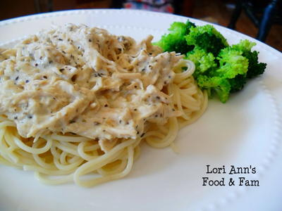 Easy Italian Chicken Alfredo Dinner