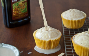 Skinny Buttered Rum Cakes