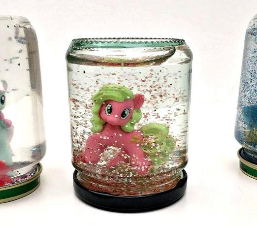 Kids Toy DIY Snow Globe