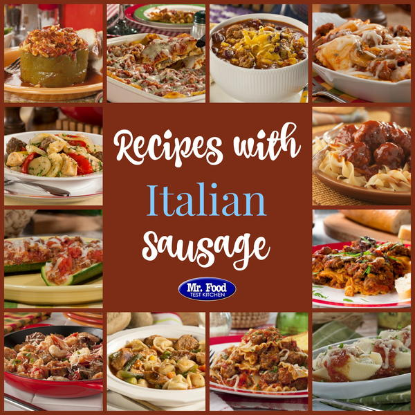 Quick and easy italian sausage recipes