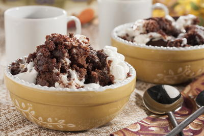 Rocky Road Pudding Cake