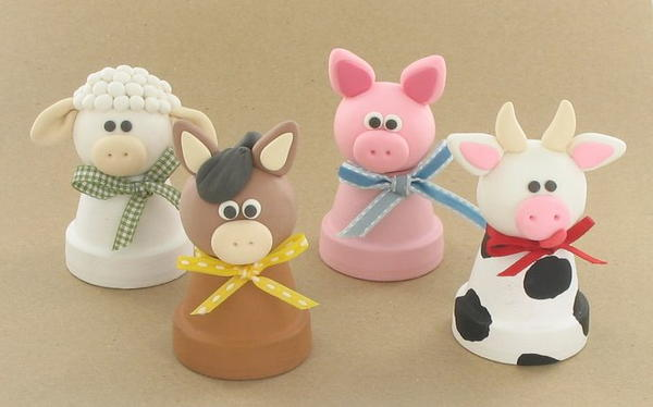 Barnyard Polymer Clay Ideas