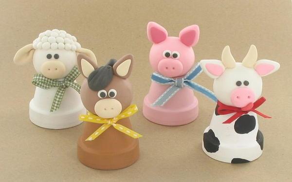 Barnyard Polymer Clay Ideas