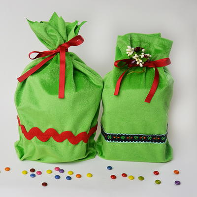 Reusable Gift Bag Sewing Pattern