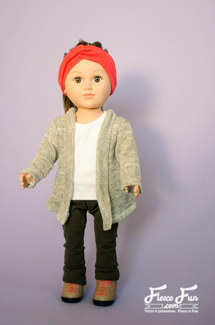 Doll Cardigan Sewing Pattern Allfreesewing Com