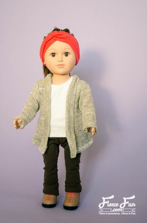 Doll Cardigan Sewing Pattern