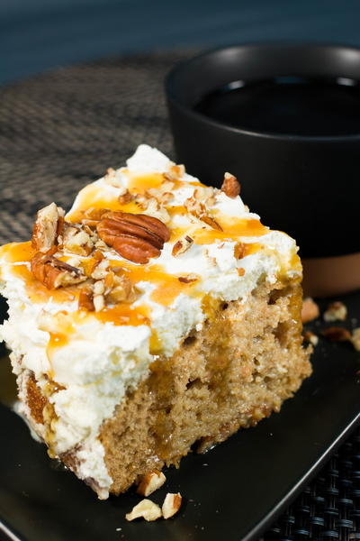 Heavenly Carrot Poke Cake Recipe