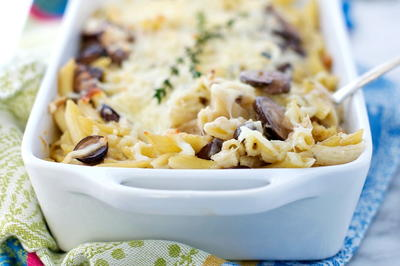 Easy Chicken and Mushroom Casserole